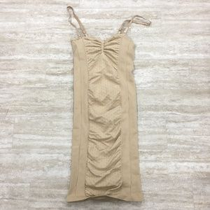 New Free People Texture Nude Seamless Slip XS/S